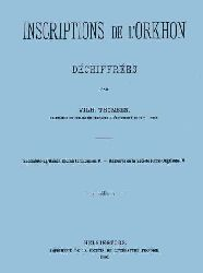 Inscriptions De Orkhon Dechifrees