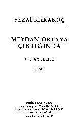 Meydan Ortaya Chiktighinda Hikayeler-I-Sezai qaraqoç-2005-74