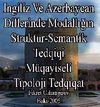 Ingilis Və Azərbaycan Dillərində Modallığın Struktur-Semantik Tədqiqi - Fikrət Cahangirov