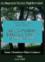 Azerbaycanin Faydali Bitgi Servetleri