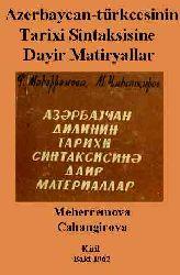 Azerbaycan-türkcesinin Tarixi Sintaksisine Dayir Matiryallar