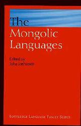The Mongolic Languages