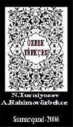 Özbek Dili