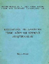 Türk Ağizlari Üzrə Araşdirma