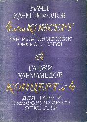 Konsert-4-Tar Ile Simfonik Orkestr üçün -Not-Haci Xanmemmedov-Baki-1989-50s