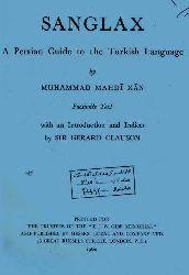 Senglağ-ingilizce-Sir Gerard Clauson-qılavson