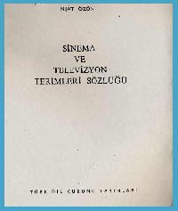 Sinama-Televizion Sözlügü