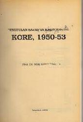 Unutulan Savaşın Kronolojis Kore-1950-53-Mim Kemal Öke-1990-196s
