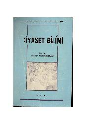 Siyaset Bilimi-Ahmed Taner Qışlalı-1987-460s
