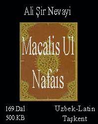 Majolis Un Nafois Alisher Navoiy