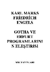Gotha Ve Erfurt Proqramlarının Ilişdirisi-Marks Engels-2002-50s