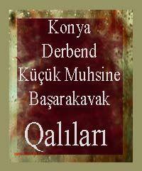 Konya Derbend Kuchuk Muhsine Basharakavak Halilari - Perihan Tunç