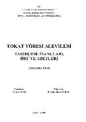 Tokat Yöresi Alevileri Tarixcesi-Inancları-Ürf Ve Adetleri-Cenksu Üçer-2005-305s
