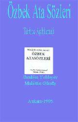 Özbek Ata Sözleri-Türkce Açıklamali