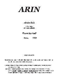 Arin-2005-Sözün Özü-Bey Hadi