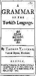 A Grammar Of TheTurkish Language-Vaughan
