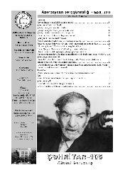 Azerbaycan Şerqşünaslıq Dergisi-Şehriyar-2011-72s