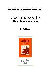Yaşayan Sosyalizm-R.Yürükoğlu-1977-68s