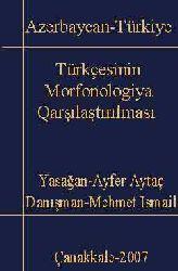 Azerbaycan-Türkiye Türkcesinin Morfonolojya qarşılaştırılması