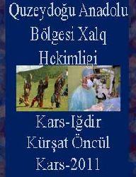 Quzeydoğu Anadolu Bölgesi Xalq Hekimligi-Kars-Iğdir