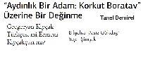 Aydınlıq Bir Adam Qorqud Boratav üzerine Bir Değinme-Tanel Demirel-Qriqoryan Qipçaq Turkcesimi Ermeni Qipçaqcasimi-Bilgelxan Atsız Gökdağ-13s