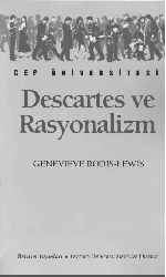 Descartes Ve Rasyonalizm Genevieve Rodis-Levis-Lewis-Çev-xeldun Karyol-1993-112