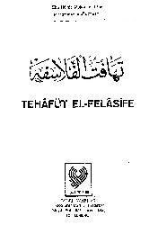 Tehafetul Felasife-Filosofların Tutarsızlığı-Ebu Hamid Muhammed Ibn Muhammed Elqazali-1981-25s