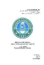 XVIII. Yuzyılda Diyarbekir Voyvodalığının Mekansal Örgütlenmesi Özlem Başarır 34