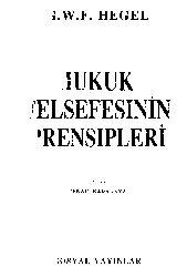 Huquq Felsefesinin Prensipleri-1821-Hegel-Çev-Cenab Qaraqaya-1991-288s