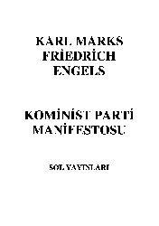 Kominist Parti Manifestosu-Karl Marks-Friedrich Engels-59s