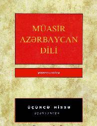 Müasir Azerbaycan Dili Morfolojiya-3-Muxtar Hüseynzade-2007-280s
