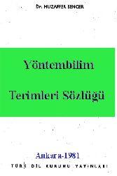 Yöntembilim Terimleri Sözlüğü