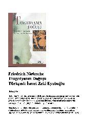 Trajedyanin Doğuşu-Friedrich Nietzsche-Chev-Ismet Zeki Eyuboghlu-91s