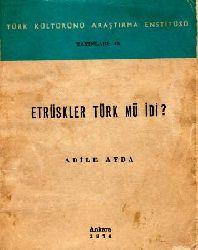 Etruskler Türk Mü Idi