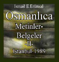 Osmanlıca Metinler Ve Belgeler 2 Cilt - Ismayıl E.Erünsal