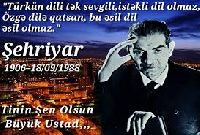 Türkün Dili Tek-Şehriyar-Adiyo