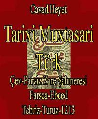 Tarixi Muxtasari Türk - Cavad Heyet - Çev - Parviz Zare Şahmeresi - Farsca  Ebced-Tebriz-Turuz-1213  تاریخ مختًصًرتورک