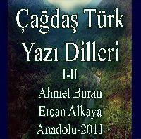 Çağdaş Türk Yazı Dilleri 2 Cİlt - Ahmed Buran - Ercan Alkaya