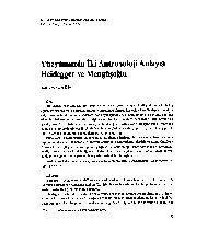 Yüzyılımızda İki Antropoloji Anlayışı Heidegger ve Mengüşoğlu Sevgi iyi 11