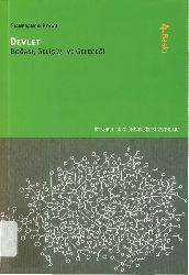 Devlet-Doğası-Gelişimi-Geleceği-Gianfranco Poggi-Aysun Babacan-2016-290s