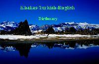Khakas-xakas-Turkish-English Dictionary