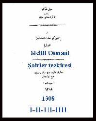 Sicilli Osmani -Şairler tezkiresi