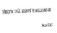 Türkcede Değil Sözü Ve Kullanımı-Mehmet Özmen-54s