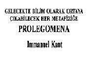 Prolegomena-Immanuel Kant-Ioanna Kuçuradi-yusuf örnek-2002-301s