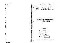 Milli Mucadile Yeshil Ordu-Mustafa Yilmaz-1987-174s+ Donanma Cemiyetinin Anadoluda Örgütlenmesine Ilişgin Gözlemler-Nurşen Gök-18S