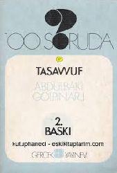 Yüz Soruda Tasavvuf-Abdülbaqi Gölpinarlı-1969-99s