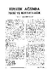 Kerkük Ağzında Mani Ve Hoyrata Dayir Ziyad Ağqoyunlu 42s