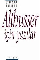 Althusser-Altuser-Üçün Yazılar-Etienne Balibar-1991-248s