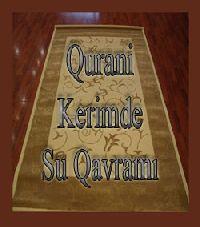 Qurani Kerimde Su Kavramı