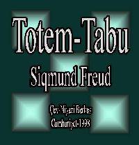 Totem Ve Tabu - Siqmund Freud - Niyazi Berkes